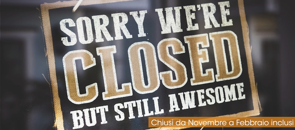 closed banner